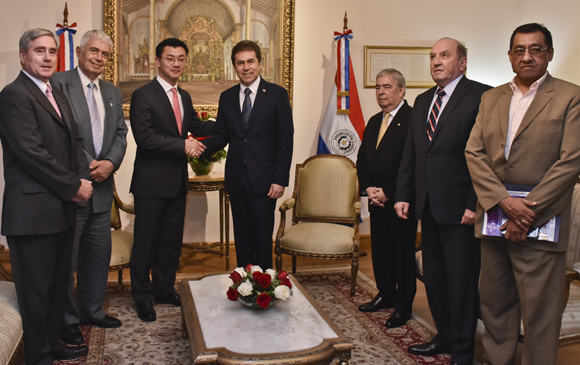 Canciller recibió al Gerente de la Fundación Heritage de Estados Unidos que elabora índices sobre prosperidad en Paraguay