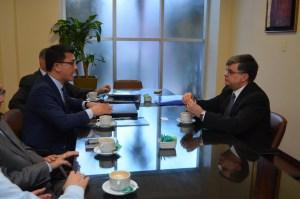 Representante de Heritage Foundation mantuvo reunión con titular de la STP