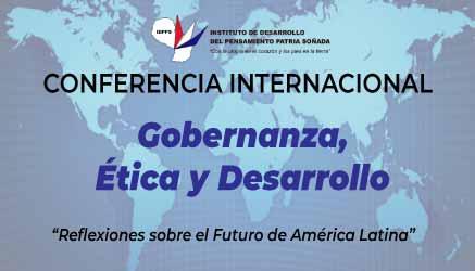 """Conferencia Internacional """"Gobernanza, Ética y Desarrollo"""""""