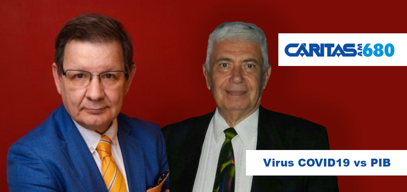 COVID19 y PIB / Entrevista a Ricardo Rodriguez Silvero - Carlos Martini de Radio Caritas