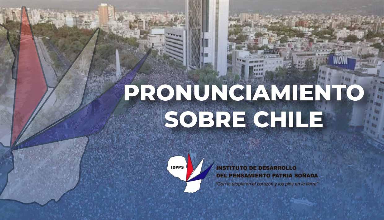 Pronunciamiento sobre Chile 07/11/2019