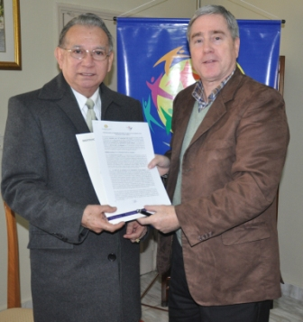 Firma Convenio Marco Fundación Paz Global - IDPPS
