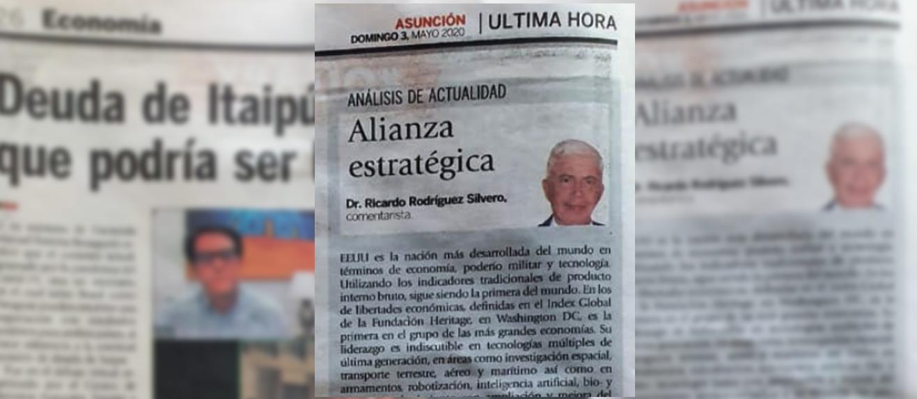 Alianza estratégica - Columna Diario UH
