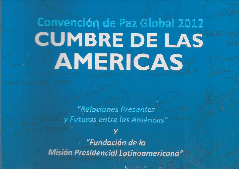 Cumbre de las Américas I - 2012