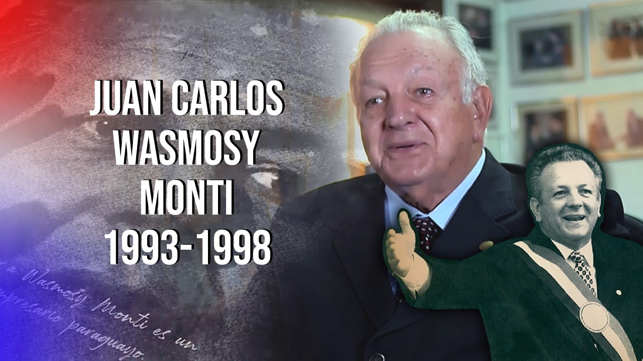 """Proyecto Documental """"En sus propias palabras"""" - Juan Carlos Wasmosy, Paraguay 2020 - Misión Presidencial Latinoamericana"""