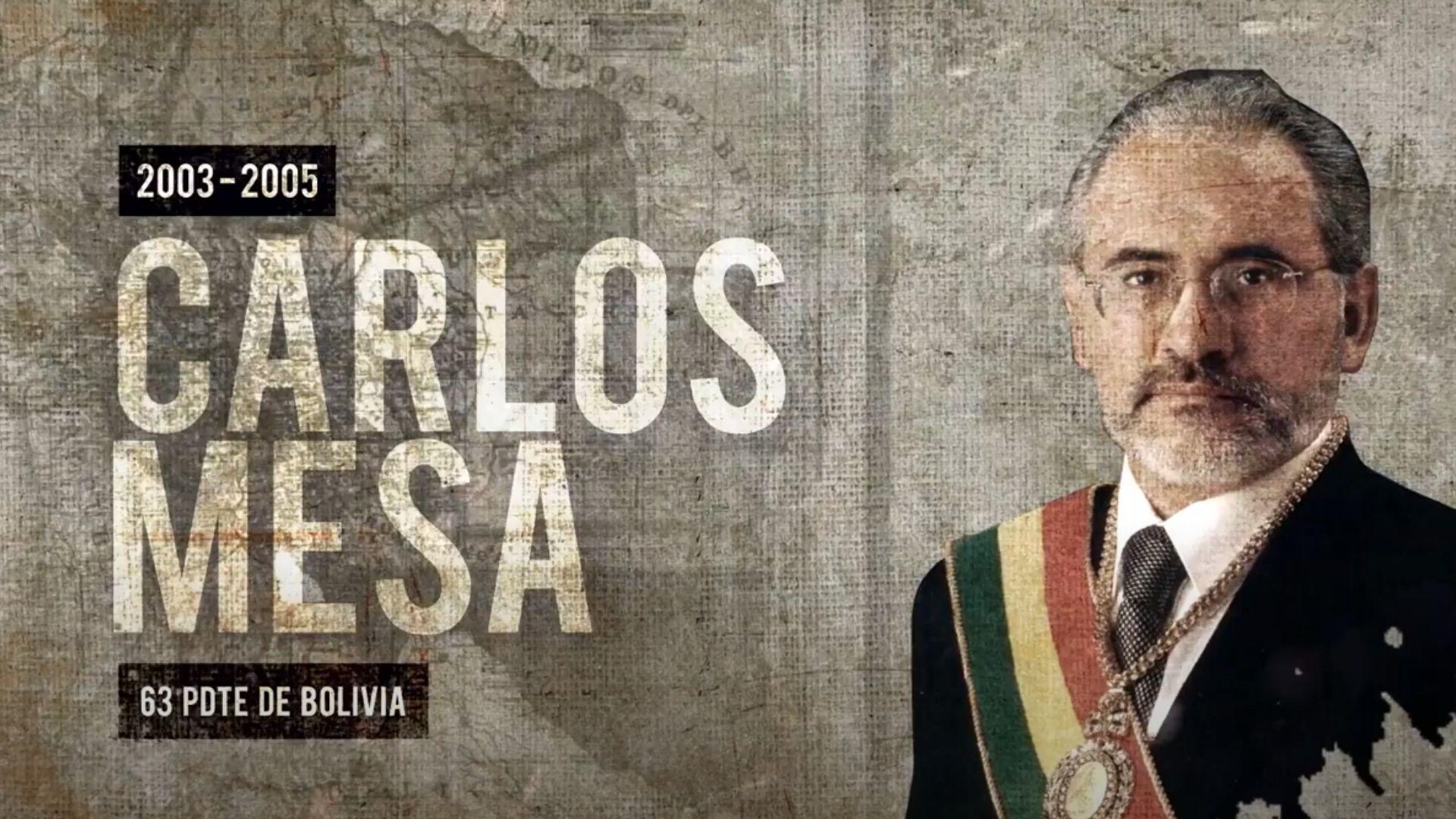 """Proyecto Documental """"En sus propias palabras"""" - Carlos Mesa, Bolivia 2020 - Misión Presidencial Latinoamericana"""