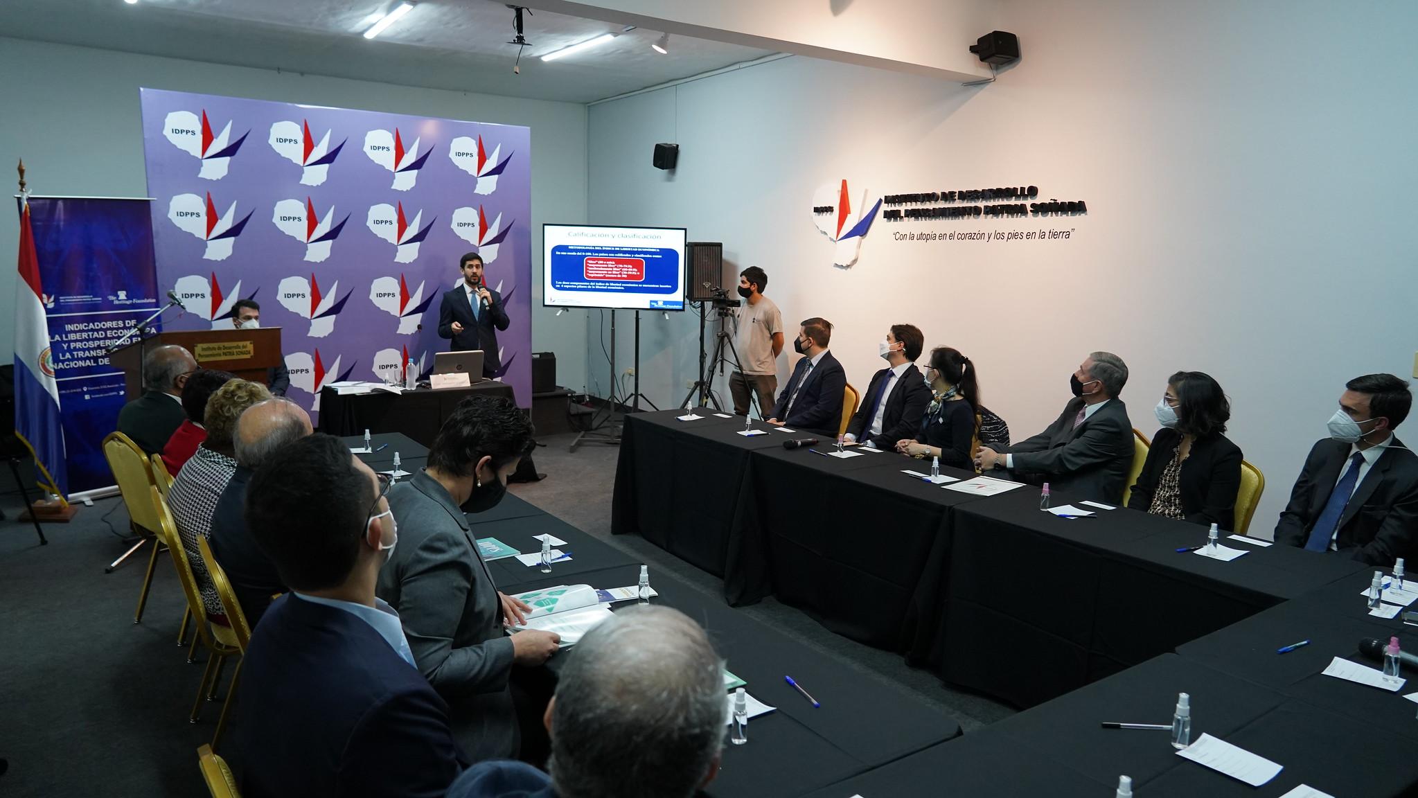 """Conferencia """"Indicadores de la Libertad Económica en Paraguay"""" - Edición 2021"""