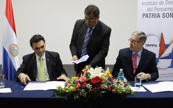 Firma Convenio Marco STP - IDPPS